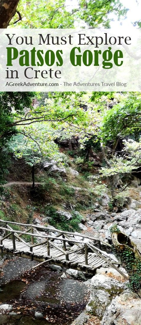 One of the top ten gorges to hike in Crete! #hiking #greece #canyoning