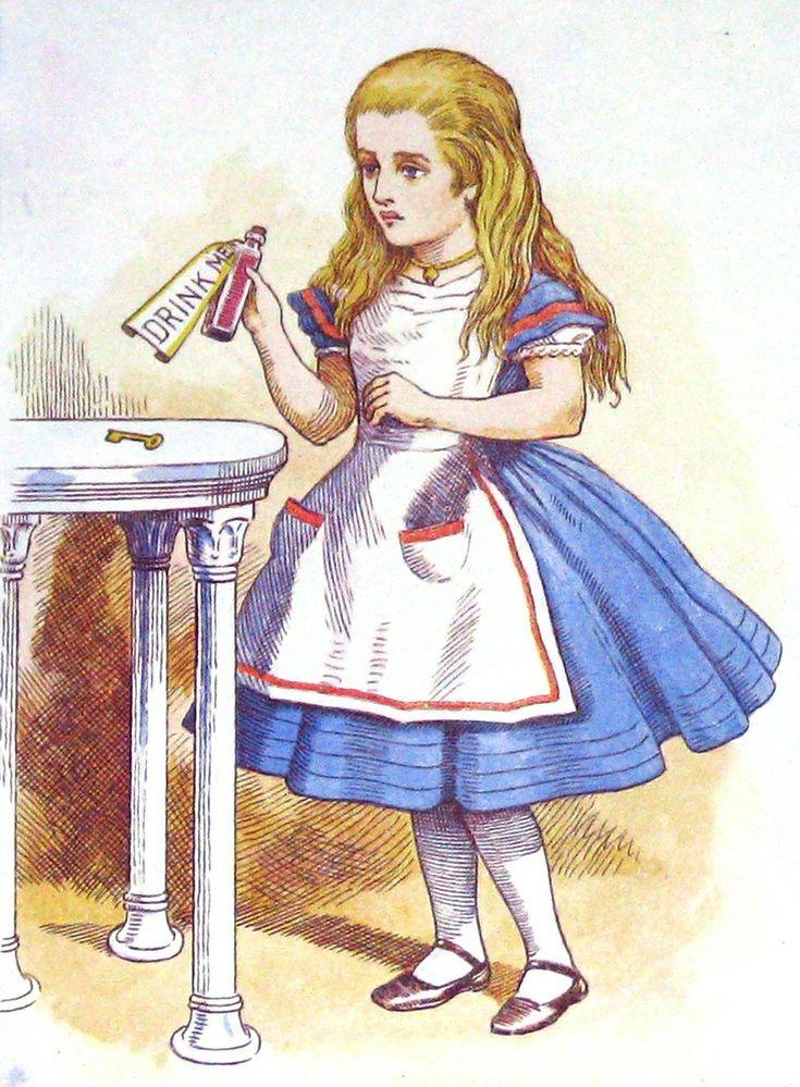 стремительно алиса в стране чудес викторианская эпоха открытки обратилась