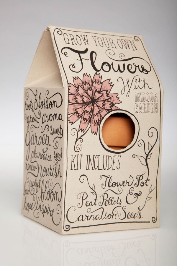 indoor garden kit packaging | Kristen O'Callaghan