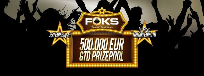 Friend of King's Series: The ultimate challenge for all poker players!  King's Casino presents a brand new tournament format and sets new standards in playing quality. The Friend of King's Series (FOKS) is the ultimate challenge for poker players.  http://european-poker-festival.com/