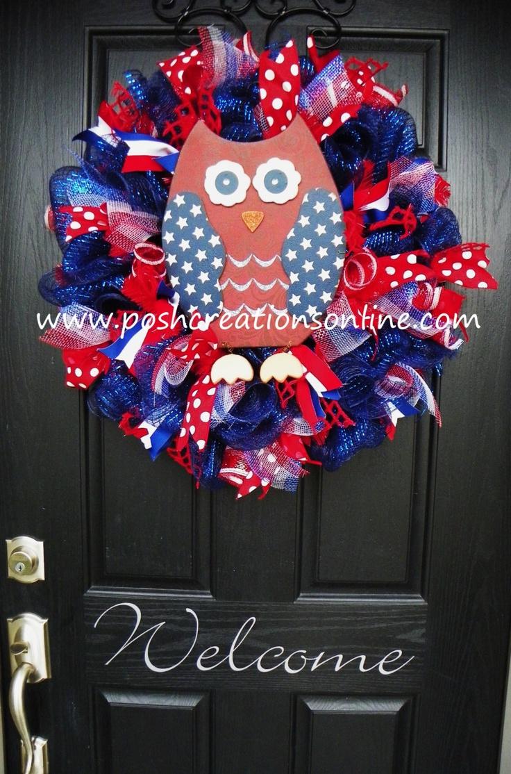 1081 best Wreaths,Patriotic images on Pinterest | Celebration ...