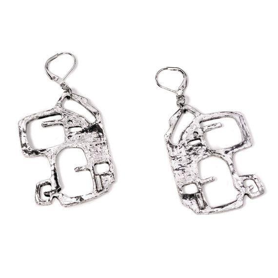 Boucles d'oreilles/Earrings: AZIZE 23 (Collection UBE)
