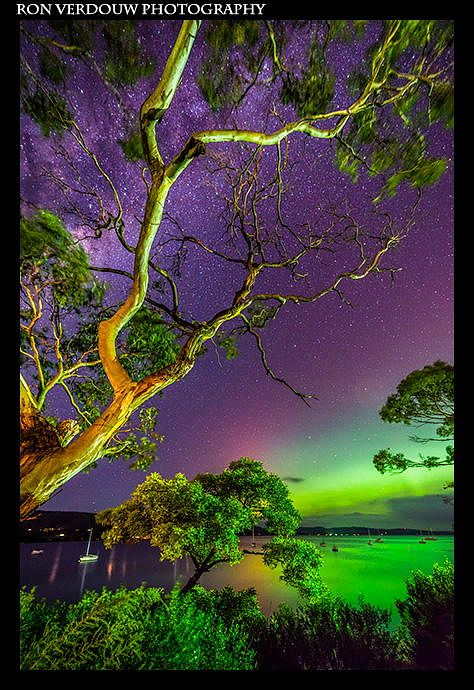 Aurora Australis, Tasmania, Australia