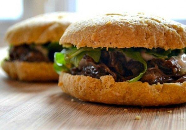 Braised Short Ribs Passover Sandwich