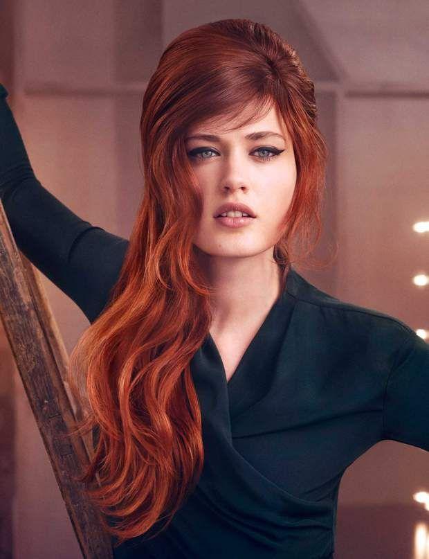 Le roux glamour de L'Oréal Professionnel ,