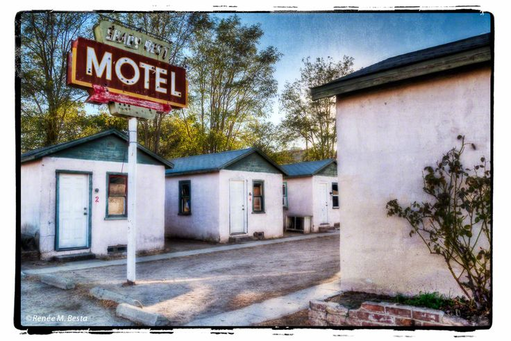These Walls Don't Talk – Historic Shady Rest Motel, San Miguel, California