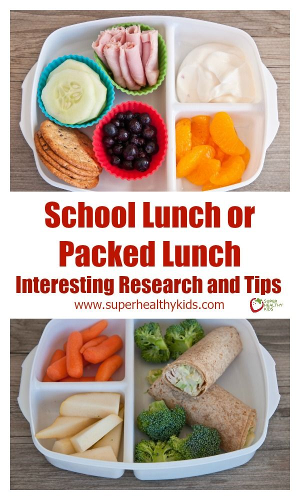 School Lunch Versus Packed Lunch - Interesting Research and Tips  http://www.superhealthykids.com/school-lunch-versus-packed-lunch-interesting-research-tips/