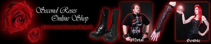 Second Roses Online Shop für Gothic Kleidung mit Secondhandbereich
