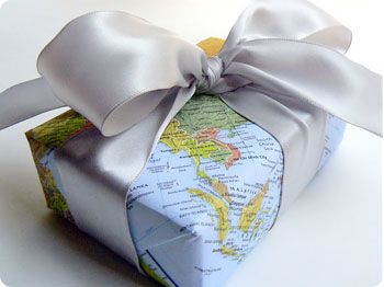 22 best alternative gift wrapping solutions images on pinterest in a world of satnav maps arent needed as much anymore except for wrapping presentswrapping ideaswrapping paperscreative giftsunique gumiabroncs Image collections