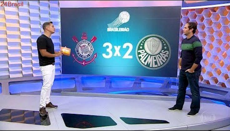 Globo Esporte   Corinthians 3 x 2 Palmeiras   Brasileirão 32ª Rodada   06/11/2017