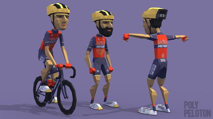 Poly Peloton: 2017 Kit : Bahrain–Merida Pro Cycling Team
