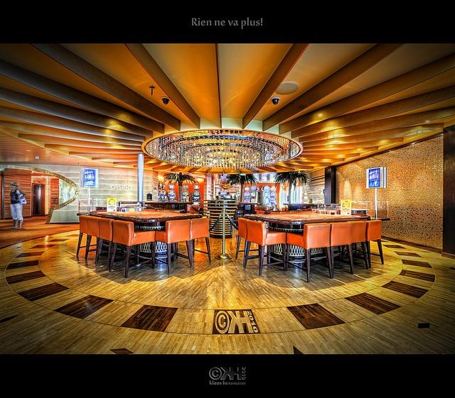 interior shot from the AIDAbella cruise ship