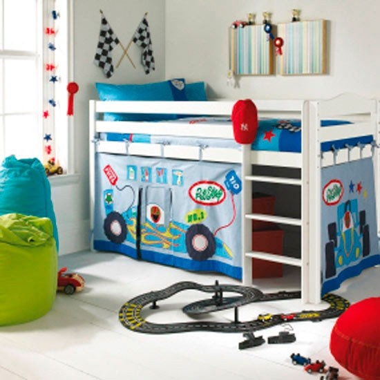 Cool boys bed/playhouse