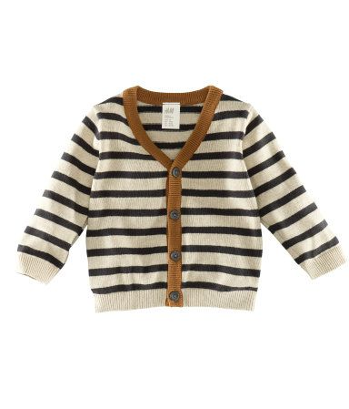 Cardigan $7.95  DESCRIPTION  Fine-knit V-neck cardigan with front button placket.  DETAILS  100% cotton. Machine wash warm  Imported