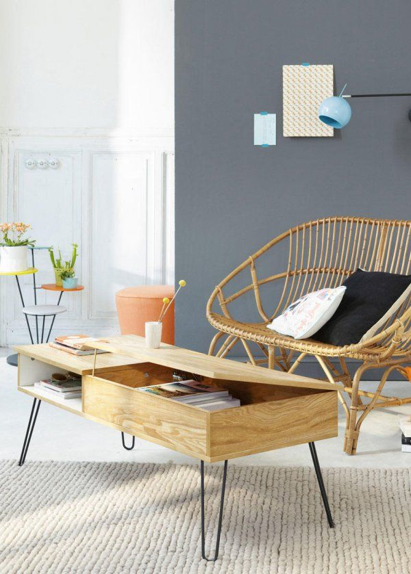 Décoration scandinave scandinavian home tables basses rectangulaires 10 idées déco pour meubler son