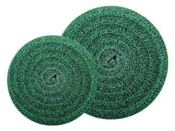 """Matala Pond Filter Media 22"""" Round - Green by Matala. $61.98. Ease of cleaning in in a wide variety of filter designs.. Mats are self-supporting, form-stable, rigid and non-brittle. The open, highly aerobic tri-dimensional structure of Matala Filter Media promotes healthy water conditions. You'll see it featured in every major Pond, Koi & Fish Care Magazine.. This is simply the most effective, longest lasting, crush resistant filter material available today!. Green- COA..."""