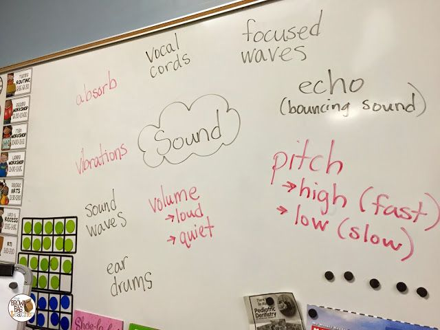 The Brown-Bag Teacher: Teaching about Sound: 1st Grade Science