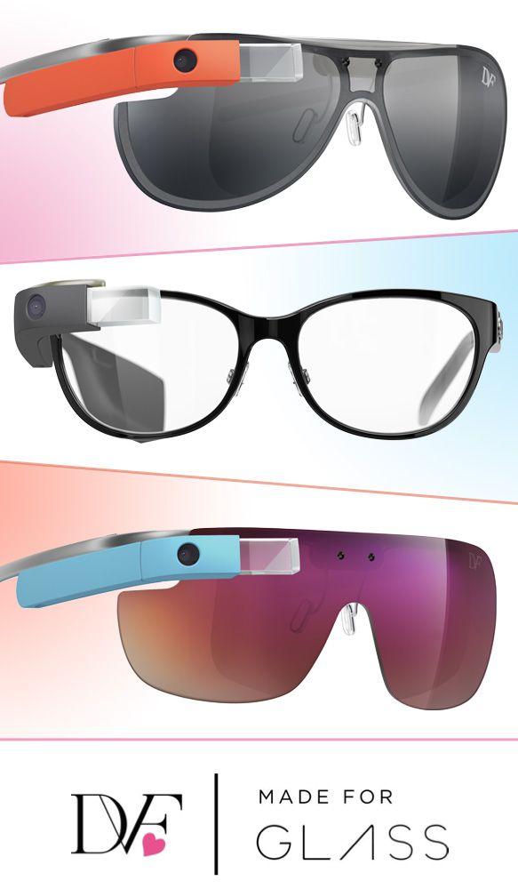 Say Hello to DVF | Made for Glass: http://eyecessorizeblog.com/?p=5878Google Glasses, Glasses Supplies