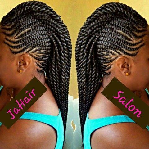 braided mohawk hair styles