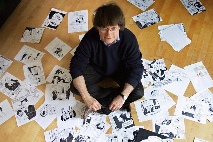 Image issue du site Web http://media.rtl.fr/cache/vgSGNQnAcOqeelqYKGg0Jg/795x530-2/online/image/2015/0107/7776131078_le-dessinateur-jean-cabut-alias-cabu-pris-en-photo-au-milieu-de-ses-dessins-le-15-mars-2006.jpg