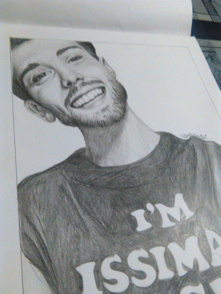 #drawing #portraits #youtuber #italian #issima91