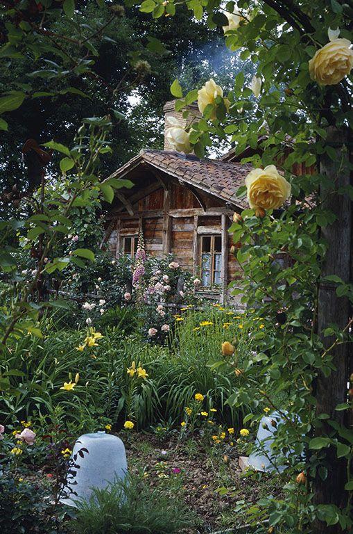 Les Prés d'Eugénie - Michel Guérard. Eugénie-les-Bains, France. Unique in the world: romantic haven, a feast for the senses, for pampering your body and letting your mind wander. #RelaisChateaux #Garden #Romantic
