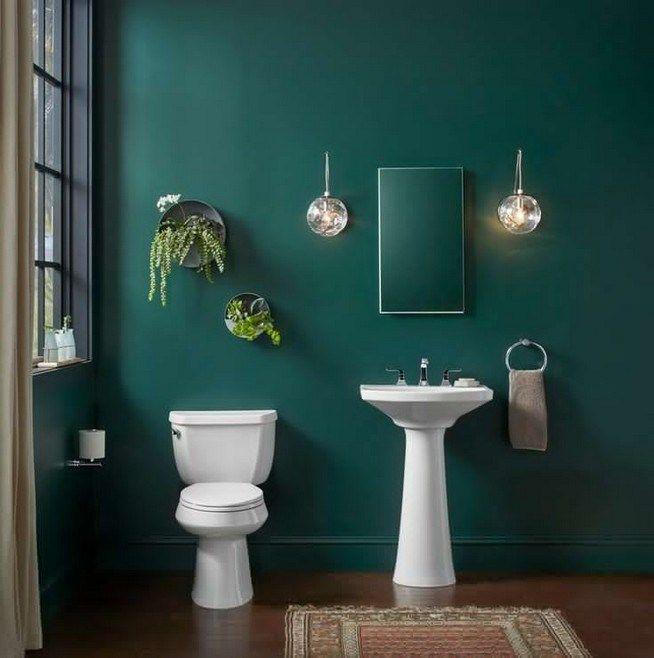 45+ Emerald green bathroom decor trends