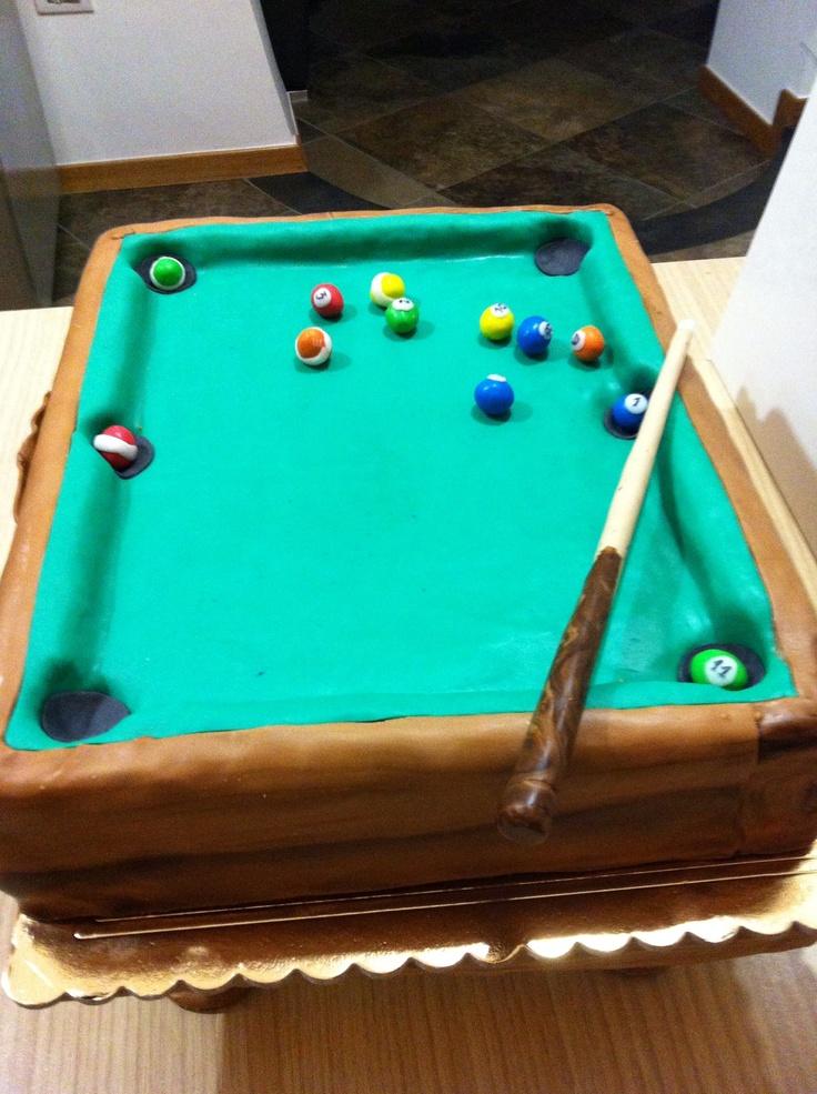 Best 25 Pool Table Cake Ideas On Pinterest Pool