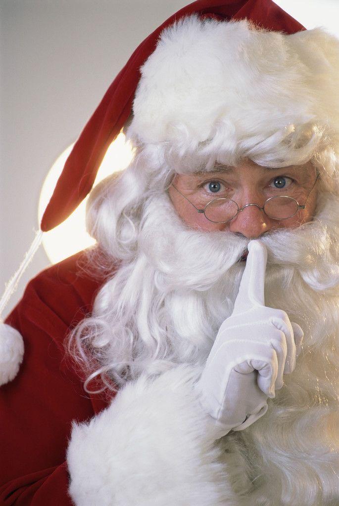 Santa, I know him!!
