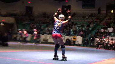 """""""Roller Girls skate may be final event at Asbury Park's Convention Hall""""  Video by NJ.com about the Jersey Shore Roller Girls finding a new venue after Conventional Hall closes in Asbury Park. #JSRG #rollerderby"""