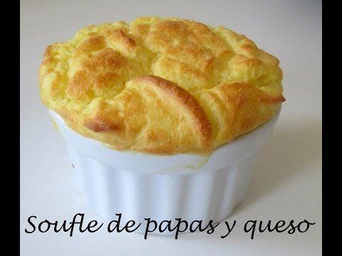 Receta: Souffle De Papas Y Queso (Muy Facil Y Rico) - Silvana Cocina Y Manualidades - YouTube