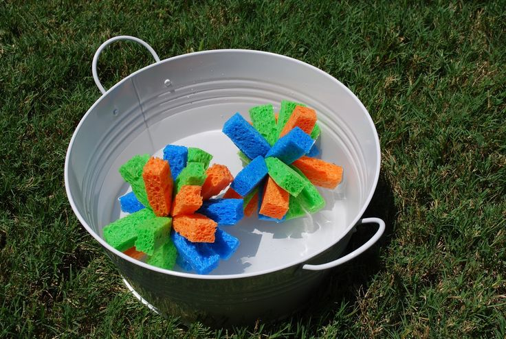 Sponge Bombs, sponge bomb tutorial, sponge bombs instead of water balloons