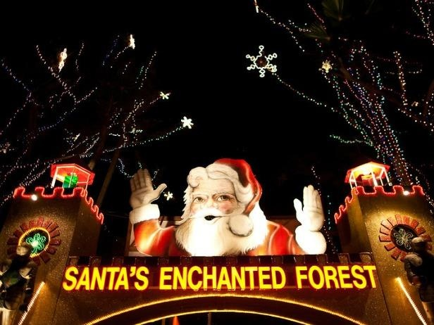 I always wanted to drive through Santa's Enchanted Forest. It could be seen from the highway and it looked so magical.