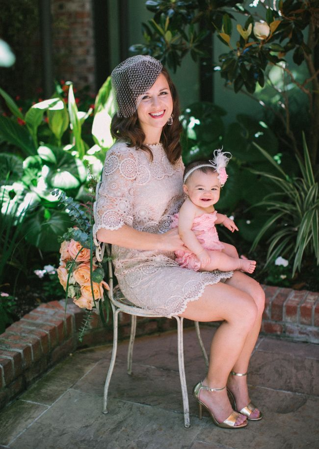 Vow renewal mother and daughter bhldn weddings for Mother daughter dresses for weddings