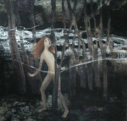 Kunstner: June Sira   Teknikk: Maleri, tempera på lerret   Størrelse: 145 x 150 cm   5% kunstavgift inkludert i prisen      Klikk på bildet for en større utgave