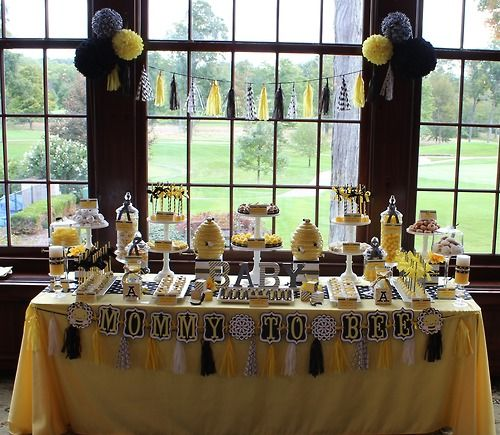 Sweet Simplicity Bakery Bumblebee Baby Shower Mommy To Bee Themed Dessert Candy