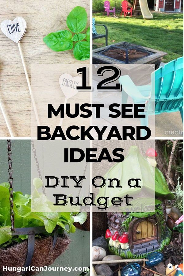 12 Amazing Backyard And Patio Ideas On A Budget Budget Patio