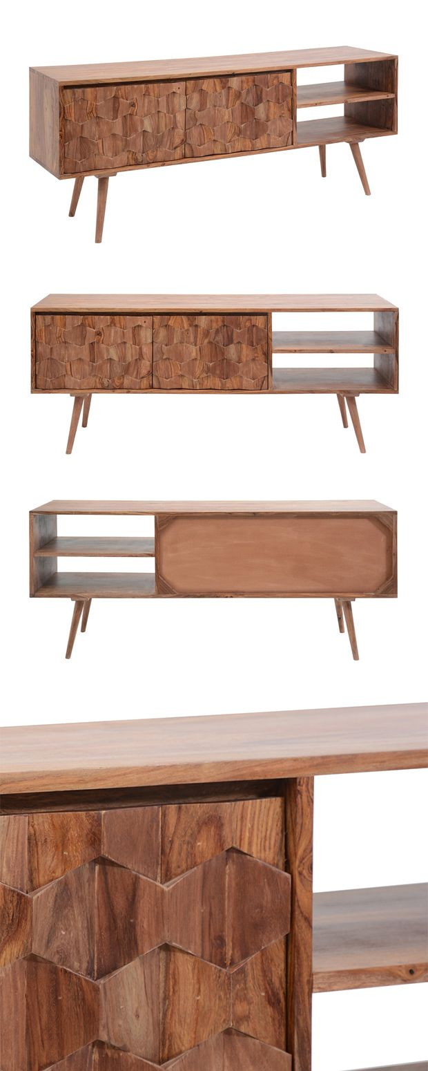 Look closely to fully appreciate the design brilliance of this Cameron Park Media Cabinet. We were overwhelmed by its phenomenal attention to detail, layering shaped wood pieces on its door fronts to a...  Find the Cameron Park Media Cabinet, as seen in the The Bohemian California Beach Lodge Collection at http://dotandbo.com/collections/the-bohemian-california-beach-lodge?utm_source=pinterest&utm_medium=organic&db_sku=114632
