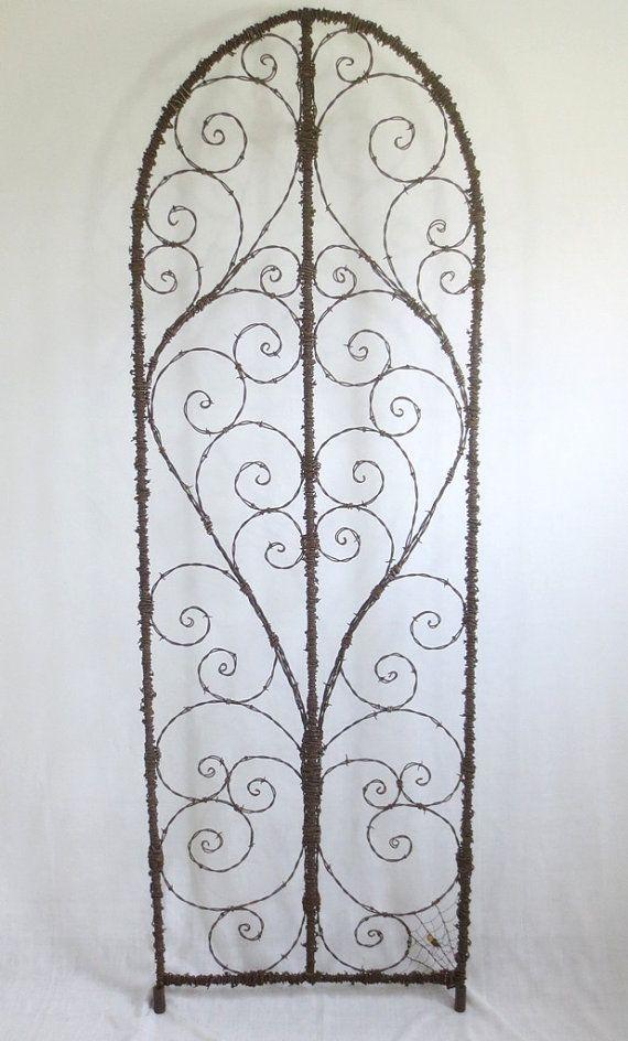 Enrejado de alambre de púas Spirilian elegante hecho a la