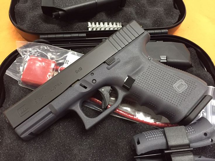 New Grey Framed Glock. My next purchase.