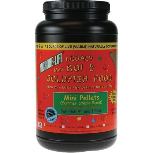 Microbe-Lift Legacy Mini Pellets Koi and Goldfish Food