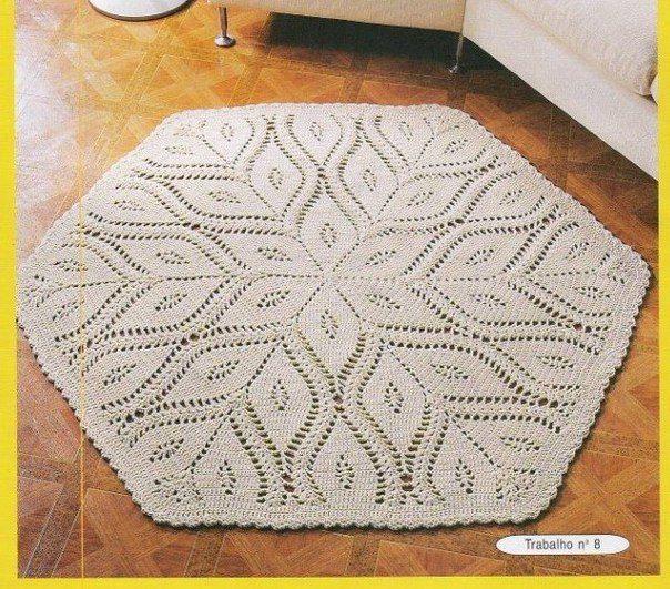 Ideas para el hogar: Alfombra tejida