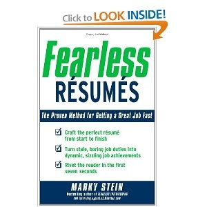 fearless resumes the proven method for getting a great job fast resume writingresume tipscleaning