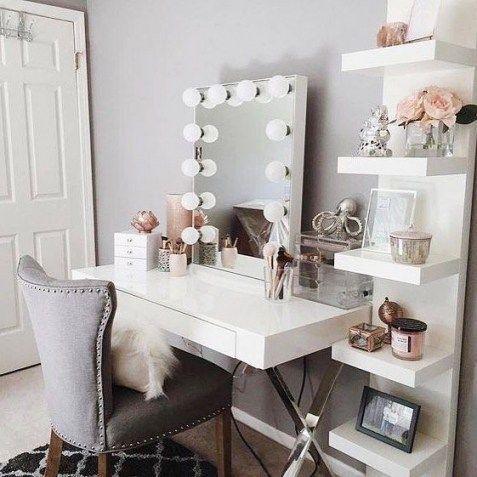 makeup room decorating ideas #modernmakeuproomideas