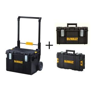 DEWALT 22 in. Tough System Mobile Storage Unit with Bonus Storage Units DWST08250203130 at The Home Depot - Mobile