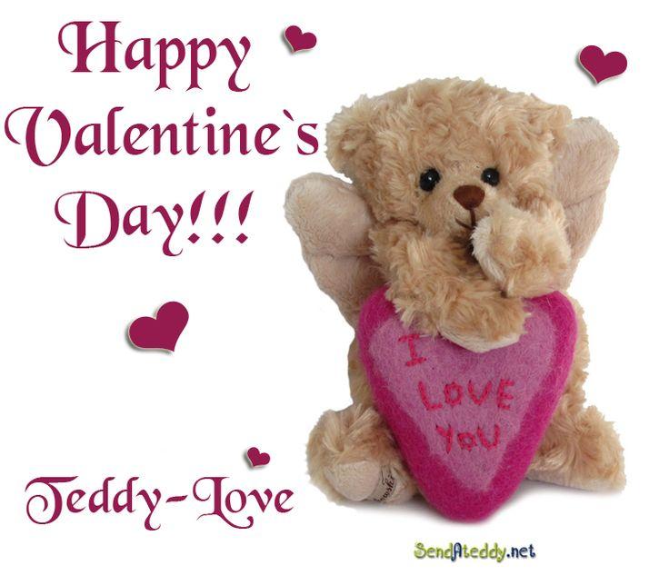 Happy Valentine's Day! #sendateddy #teddyhugs http://www.sendateddy.net