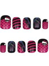 Monster High Skullette Nails - Party City