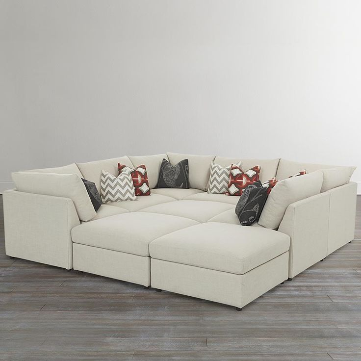 For The Bett Beckham 3974 Custom Modular Pit Sectional At Great American Home Your Memphis Tn Southaven Ms Furniture Mattress