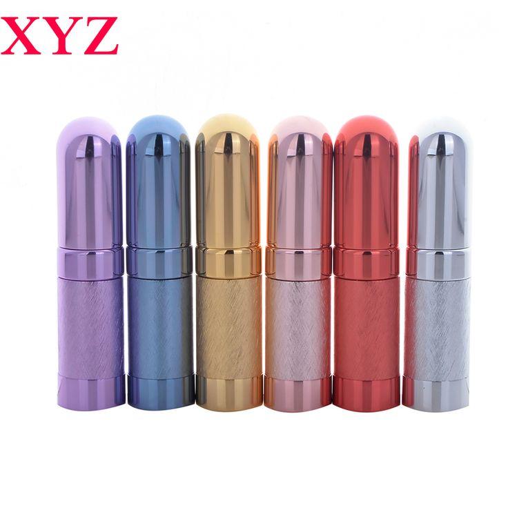 Hohe Qualität 6 ML 6 Farben Mini Leere Reisenden Metall Spray Nachfüllbar Tragbare Parfümzerstäuber Flasche & Leere Kosmetikbehälter