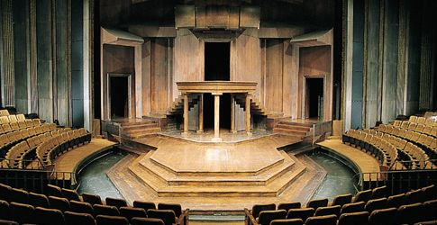 Stratford, Ontario..Shakespeare festival.. Festival Theatre